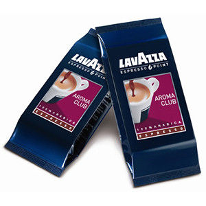 100 Capsule Lavazza Aroma Club Espresso Point