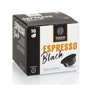 16 Capsule Touch Coffee System Miscela BLACK