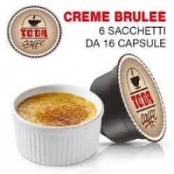 16 CAPSULE DI CREME BRULEE TODA DOLCE GUSTO