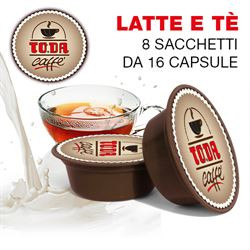 16 CAPSULE DI LATTE E THE' TODA AMM