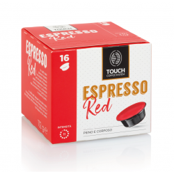 96 Capsule Touch Coffee System Miscela RED